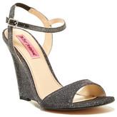 Betsey Johnson Duane Metallic Wedge Sandal