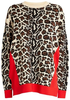 Stella McCartney Animal Print Sweater