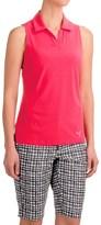 Puma Woven Block Polo Shirt - UPF 50+, Sleeveless (For Women)