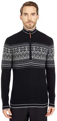 Obermeyer Jeremiah Ski Sweater (Black) Men's Clothing
