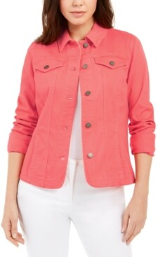 Charter Club Denim Jacket, In Regular and Petite, Created for Macy's
