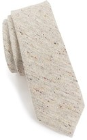 Alexander Olch Men's 'The Crisp' Cotton Melange Tie