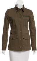 Veronica Beard Long Sleeve Military Jacket