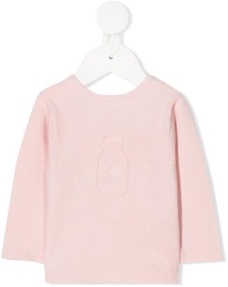 Absorba Milk Rear Button Jacket