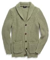 Todd Snyder Oversized Shawl Cardigan in Pistachio