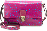 Patricia Nash Polka-Dot Pineapple Lanza Small Crossbody Organizer