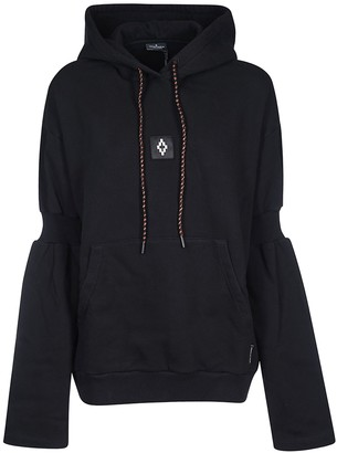 Marcelo Burlon County of Milan Attached Shoulder Hoodie