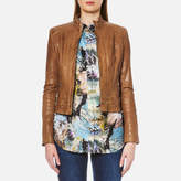 BOSS ORANGE Women's Janabelle2 Jacket Light/Pastel Brown