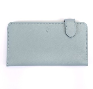 Atelier Hiva Fluctus Leather Wallet Baby Blue