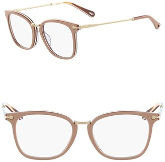 Chloé 53mm Mod Rectangle Full Rim Optical Frames