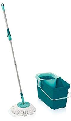 Leifheit 52019 Twist Disc Floor Mop and Bucket Set - Turquoise