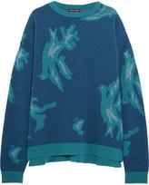 Baja East Intarsia cashmere sweater