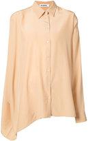 Jil Sander oversized blouse - women - Polyester - 34