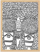 New Era Publishing Wayne Pate, Garden Scene No. 1