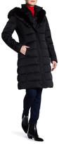 Tahari Felicity Faux Fur Trimmed Jacket
