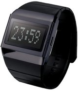 o.d.m. Unisex MDD99B-2 Mr. Metallic Series Black Programmable Digital Watch