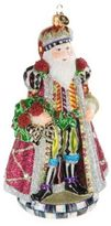 Mackenzie Childs MacKenzie-Childs Mulberry Santa Ornamenent