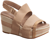 Antelope Make Up Double-Strap Leather Sandal
