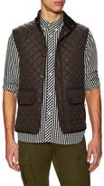 Belstaff Quilted Flap Pocket Vest