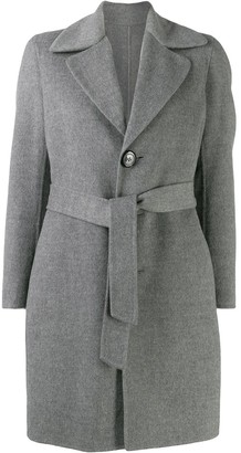 DSQUARED2 Single-Breasted Belted Coat