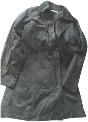 Les Petites Black Trench Coat for Women