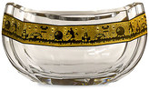 Disney Walt World Crystal Noah's Ark Bowl with Gold by Arribas Brothers - Limited Edition