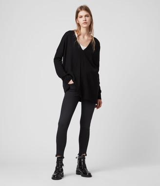 AllSaints Arly V-Neck Sweater