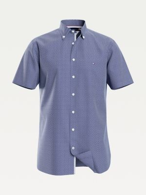 Tommy Hilfiger Big & Tall Essentials Slim Fit Short Sleeve Shirt