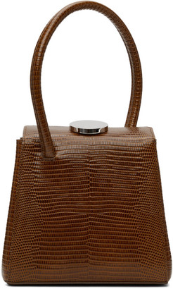 Little Liffner Brown Lizard Mademoiselle Bag