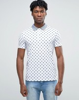 Scotch & Soda Scotch and Soda Polka Dot Polo Shirt