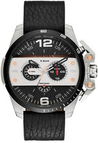 Diesel Men&s Ironside Leather Watch