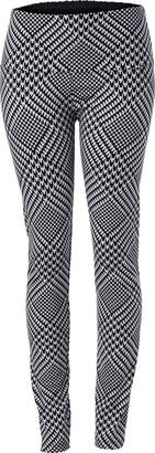 Slim Sation SLIM-SATION Women's Pull-on Patch Print Ankle Legging