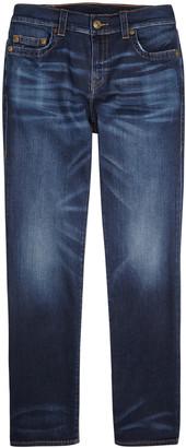 True Religion Ricky dark blue straight-leg jeans