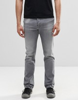 Diesel Buster Straight Jeans 853T Washed Gray