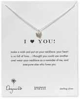 I Love You Heart Necklace, 18