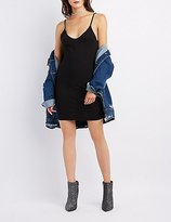 Charlotte Russe Sleeveless V-Neck Bodycon Dress