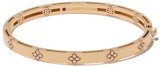 Roberto Coin 18kt rose gold diamond Love in Verona bangle bracelet