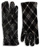 Cejon Plaid Velvet Gloves