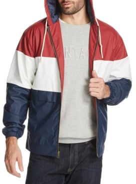 Weatherproof Vintage Men's Colorblock Rain Slicker