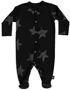 Nununu Unisex Cotton Star Footie - Baby