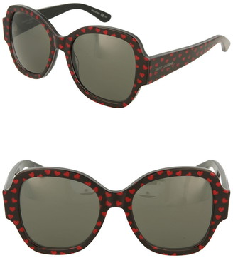 Saint Laurent 53mm Heart Sunglasses