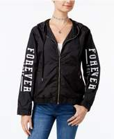 Miss Chievous Juniors' Forever Love Hooded Jacket
