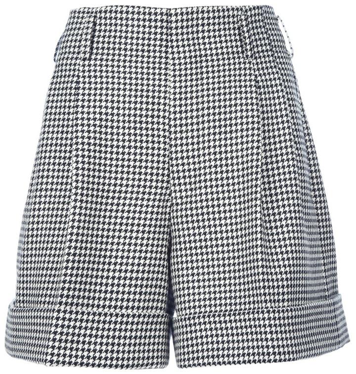 Comme des Garcons pleated shorts