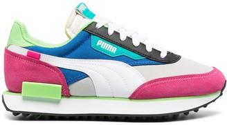 Puma Future Rider contrast panel sneakers