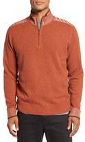 Robert Graham Men's Terzo Quarter Zip Sweater