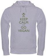 CafePress - Keep Calm Go Vegan - Pullover Hoodie, Hooded Sweatshirt