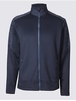 M&S Collection Funnel Neck Zipped Through Sweatshirt