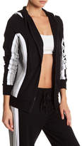 Trina Turk Attached Hood Colorblock Jacket