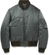 Jil Sander - Padded Shell Bomber Jacket