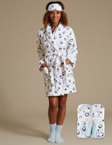 Marks and Spencer Long Sleeve Dressing Gown Set